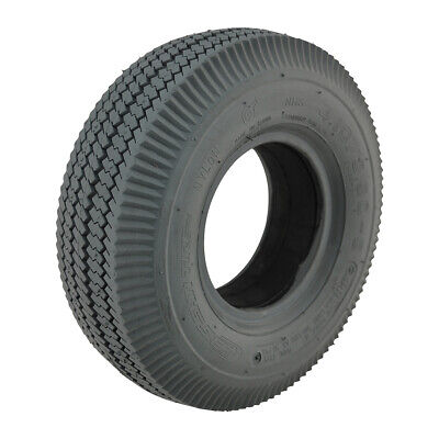 410 / 350 x 5 Grey Infilled Sawtooth mobility Tyre