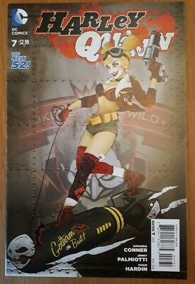 Harley Quinn 7. Bombshells Variant. Nm - See Detailed Photos. Dc Comics. New 52.