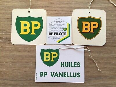 Lot Ancienne Etiquettes De Vidange Garage B P Collection