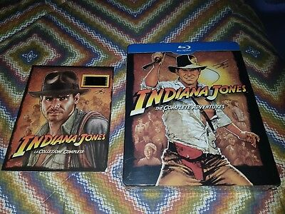 INDIANA JONES the complete adventures -blu ray-STEELBOOK-5 dischi-Limited ITA