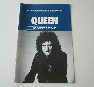 QUEEN : Official Queen Fan Club Magazine Spring 1982 Issue