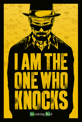 Breaking Bad (I Am the One Who Knocks) 61cm x 91.5cm - PP33183 R64