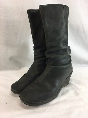 73caa9ab571 KEEN TYRETREAD LACE Women Black Boot 11M Pre Owned NQ - $59.95 ...