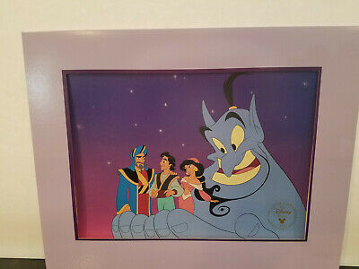 Disney Aladdin and the King of Thieves Exclusive Commemorative Lithograph 1996!
