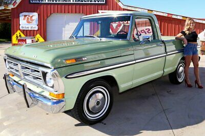 """1972 Ford F100  1972 Ford F100 Ranger 390 Big Block Automatic 9"""" Rear End Power Steering"""
