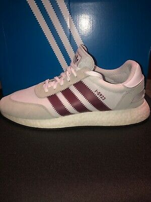 purchase cheap 07f86 24c94 ADIDAS I-5923 INIKI BOOST Size 12.5 CLOUD WHITE  COLLEGIATE BURGUNDY  GREY
