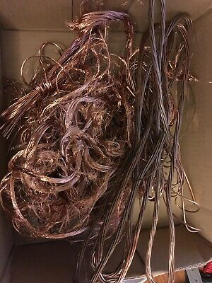 1kg scrap copper wire ideal for crafting and jewellery making and glass blowing