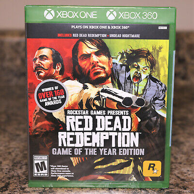 Red Dead Redemption - Game of the Year Edition (Xbox One, Xbox 360) ~NEW