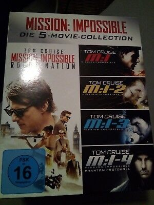 Mission Impossible Die 5 Movie Collection