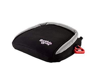 BubbleBum Inflatable Travel Car Booster Seat, Group 2/3, Black