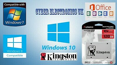 Kingston SSD A400 120GB 2.5 Inch SATA 3 Pre-Installed Windows & Office pack