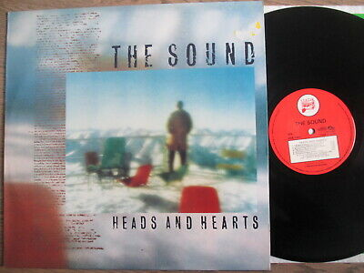 THE SOUND, heads and hearts, STATIK REC1981, RARE & TOP VINYL