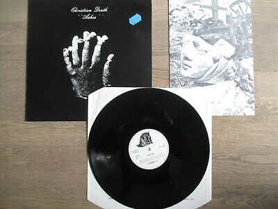 CHRISTIAN DEATH, ashes, NORMAL REC 15, BOOKLET, TOPVINYL