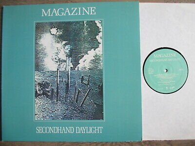 MAGAZINE, secondhand daylight, Virgin 1979,foc, TOP