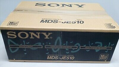 Refurbished Sony MDS-JE510 Mini Disc Recorder with 1 Year Warranty Free Shipping