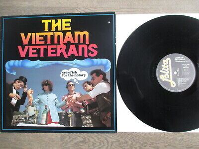 VIETNAM VETERANS, crawfish for the notary,1984,LOLITA REC  5030, TOPVINYL