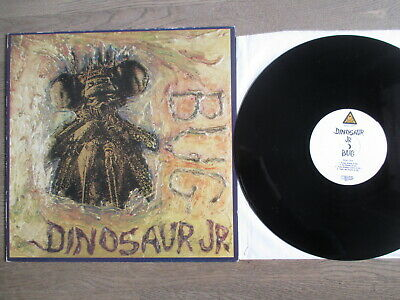 DINOSAUR JR. bug, Blast first Rec BFFB 31,'88, nearMINT
