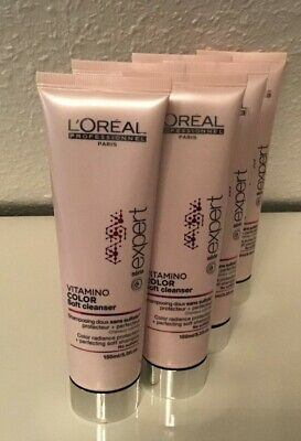 6 Loreal Serie Expert Vitamino Color AOX Soft Cleanser Shampoo sulfatfrei 150 ml