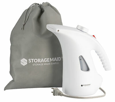 New Steamer For Clothes and Garment, Retractable Cord, Travel Compact W/Pouch