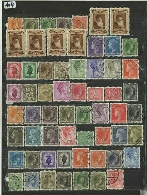 FEB 119 Luxembourg - Luxemburg Belgique lovely USED/UNUSED stamps incl. PERFINS