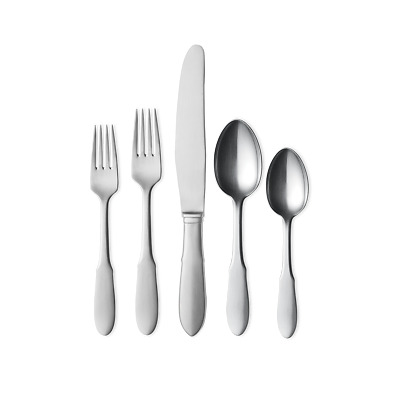 Mitra by Georg Jensen Stainless Steel Flatware 5 Piece Place Setting New