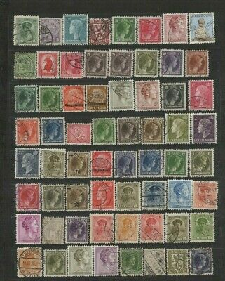 FEB 122 Luxembourg - Luxemburg lovely EARLY USED stamps UNCHECKED