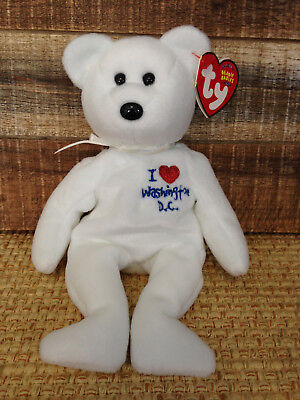 1bdc4a92148 TY Beanie Baby I LOVE WASHINGTON D.C. Brand New Fast 1st Class Shipping!