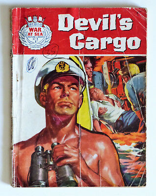 War At Sea Picture Library No.1 Devil's Cargo 1962. See images for condition.