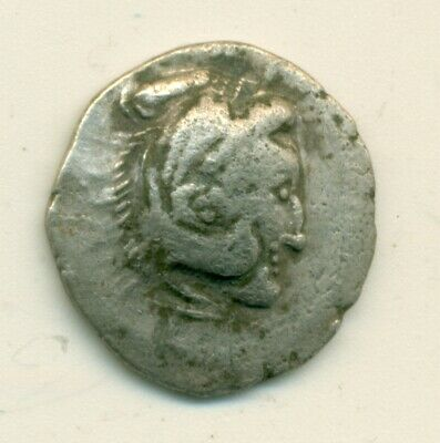 Danubian Celts Alexander III The Great AR Drachm 4th Century BC Head of