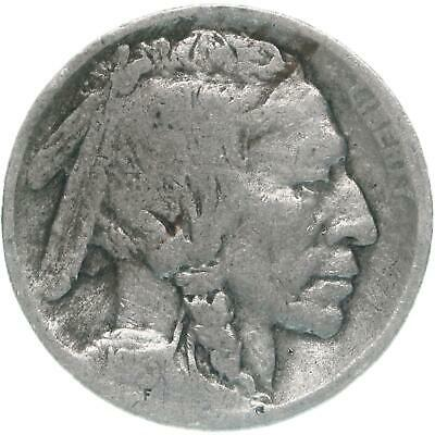 1913 Buffalo Nickel Type 1 Raised Mound About Good AG