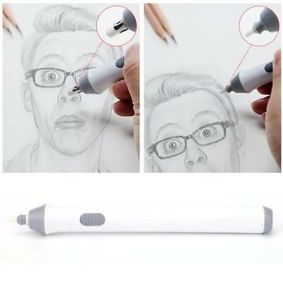Sketch Written Drawing Child Automatic 2.3mm+5mm Electric Eraser Stationery Tool