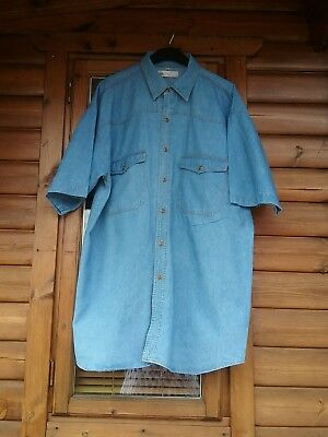 Unisex Denim Shirt 70S Old But In Excellent Condition Size Xl