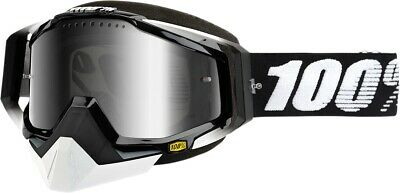 Racecraft Snow Goggles Abyss Black w/Silver Lens 50113-001-02
