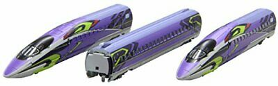 Evangelion Rokuhan Z gauge T013-4 bullet train project 500TYPE EVA 3 both b