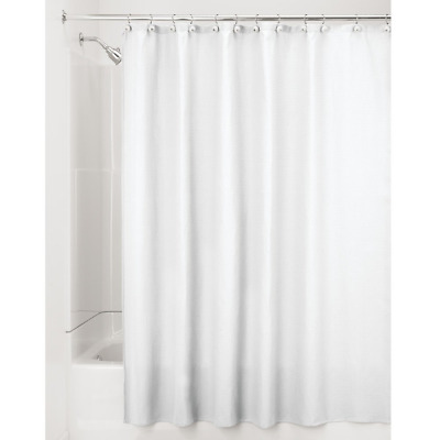 InterDesign York Waffle Weave Shower Curtain Mold Amp Mildew Resistant Hotel