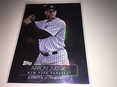2019 Topps Series 1 Aaron Judge Stars Of The Game SSB-95 - New York Yankees