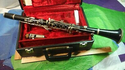Evette Buffet Crampon E11? Wood Clarinet Vintage c1976? Boehm System GERMANY