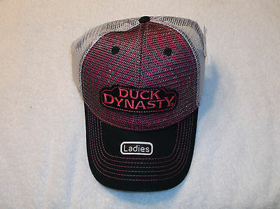 0e94168766f DUCK COMMANDER DYNASTY Hat Camo Pink Womens Cap Mesh Camouflage ...