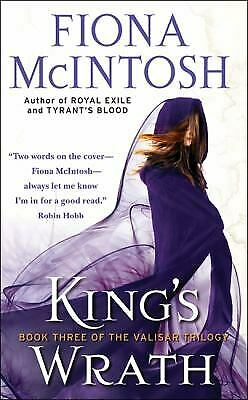 King's Wrath: Book 3 of the Valisar Trilogy by McIntosh, Fiona