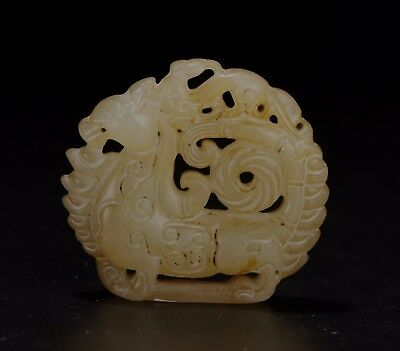 Chinese Jade carved Jade statue A3185