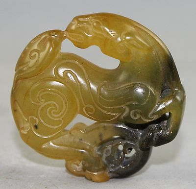 Chinese Jade carved Jade statue A2869