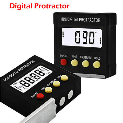 Hot Cube Inclinometer Angle Gauge Meter Digital Protractor Electronic Level Box