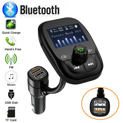 Newest Dual USB Car Charger MP3 Player FM Transmitter IF SD AUX USB Drive LCD s