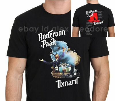 NEU RARE ANDERSON PAAK oxnard 2019 World Tour Rap Hip Hop T-SHIRT