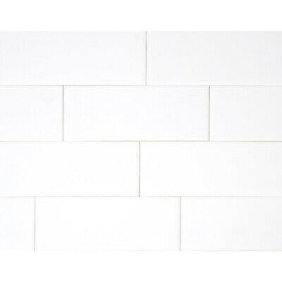 "Subway Tile Pearl White-4""x4"" SAMPLE"