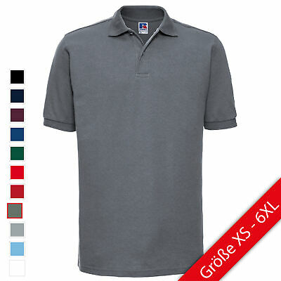 Russell Adults Hardwearing Polycotton Polo strapazierfähig Poloshirt