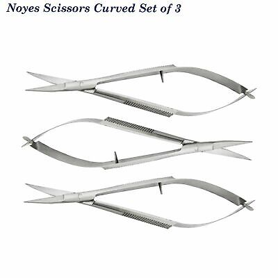 Dentist Microsurgery Castroviejo,Suture forcep, Noyes Spring Dissecting Scissors