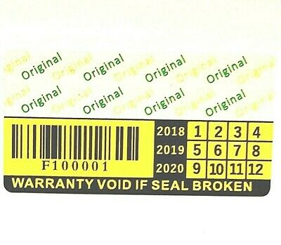 Tamper Proof Stickers warranty Security Seal Labels