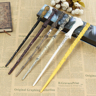 Magic Wand Cosplay Resin Elder Wand Toy Kids Child Gift Collection Box 6 Styles