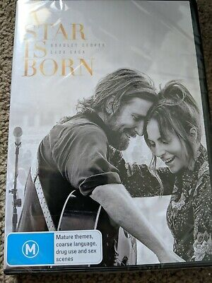 A Star Is Born Dvd (2018) New & Sealed- Free Postage! Region 4
